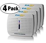 Eva-Dry EDV300 Mini-Dehumidifier - 4 Pack-