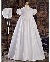 Brandi Cotton Christening Gown