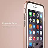 iPhone 6S Plus Case, Caseology® [Skyfall Series] Scratch-Resistant Clear Back Cover [Rose Gold] [Shock Absorbent] for Apple iPhone 6S Plus (2015) & iPhone 6 Plus (2014) - Rose Gold