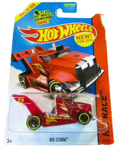 Hot Wheels - 2014 HW Race 175/250 - X-Raycers - Rig Storm (red) - 1