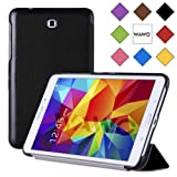 WAWO Samsung Galaxy Tab 4 8.0 Inch Tablet Smart Cover Creative Fold Case - Black