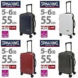 SPALDING(スポルディング)スーツケース 51L【SP-0707-55】 (レッド)