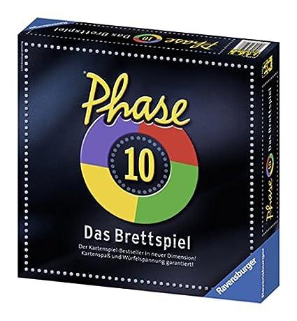 Ravensburger - 27226 - Jeu de plateau - Phase 10 - Langue : allemand