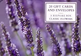 Tin Box of 20 Gift Cards and Envelopes: Classic Flowers: A fabulous collection of floral notecards and envelopes