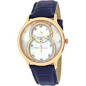 Christian Van Sant Women's CV5412 Infinie Analog Display Quartz Blue Watch