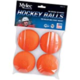 Mylec Pack of 4 Orange Warm Weather Balls