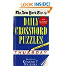 The New York Times Daily Crossword Puzzles (Thursday), Volume I