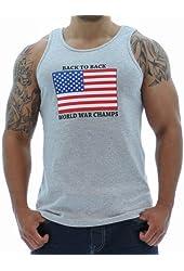 STink Clothing Men's USA Back To Back World War Champs Tank