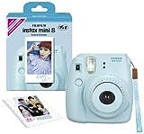 Fujifilm Instax Mini 8 INS MINI 8 BLUE N Instant Camera 62 x 46mm (Blue)