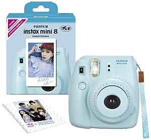 Amazon.com : Fujifilm Instax Mini 8 INS MINI 8 BLUE N Instant Camera