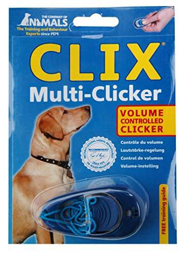 The-Company-of-Animals-Clix-Multi-Clicker-Blue