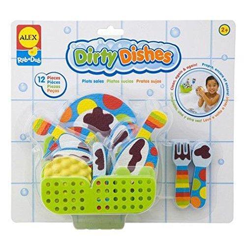 ALEX Toys Rub a Dub Dirty Dishes - 1