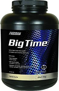 Precision - Big Time Weight Gainer 2.72 KG - Vanilla