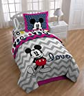 Disney Mickey Chevron Comforter Set, Twin/Full