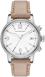 Burberry Smooth Trench Leather Ladies Watch BU7822
