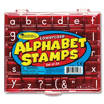 7 Pack LEARNING RESOURCES LOWERCASE ALPHABET & PUNCTUATION