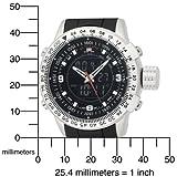 U.S. Polo Assn. Men's US9047 Analog-Digital Black Dial Black Rubber Strap Watch