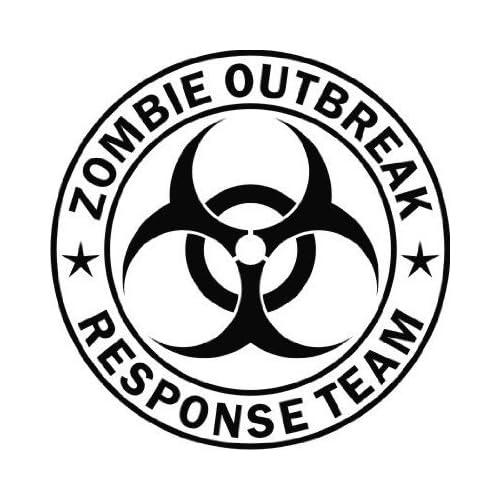 Outbreak Response Team   Vinyl Decal Sticker   8 BLACK by Ikon Sign