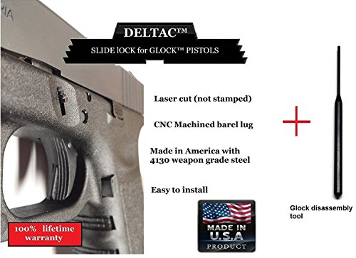 Extended Takedown plate with punch combo for Glock Gen1 to Gen4 (Glock Stainless Steel Pins compare prices)