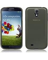 Coque Ultra Fine pour Samsung Galaxy S4 - Collection Transparent - Noir - par PrimaCase