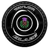 Taylor, Blaze Premier Grip Bowls, Bocce Professionali, Black, Taglia Medium Size 3