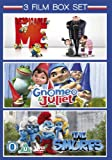 Gnomeo & Juliet / The Smurfs / Despicable Me - Triple Pack [DVD] [2011]
