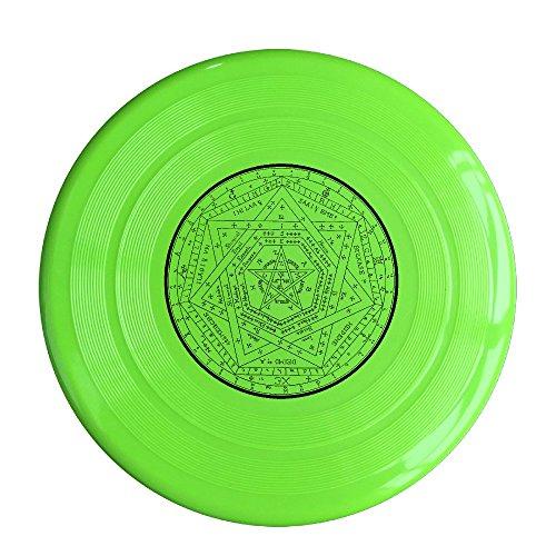 NUBIA Astrolabe Circle 150 Gram Ultimate Sport Disc Frisbee KellyGreen