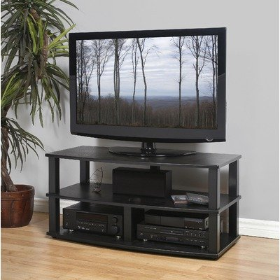 Cheap XT-Series 3-Shelf TV Stand (XT-V3 (44) (B)-B)
