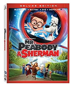 Mr. Peabody & Sherman Blu-Ray