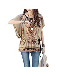 Bohemian Style Pullover Tunic