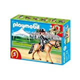 Playmobil German Sport Horse with Dressage Rider and Stable 5111