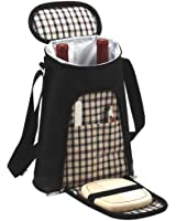 Picnic at Ascot London 2 Bottle Tote and Cheese Set