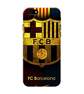 D KAUR FCB Barcelona Fans Back Case Cover for Apple iPhone 7