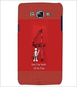 PrintDhaba Quote D-4567 Back Case Cover for SAMSUNG GALAXY J5 (Multi-Coloured)