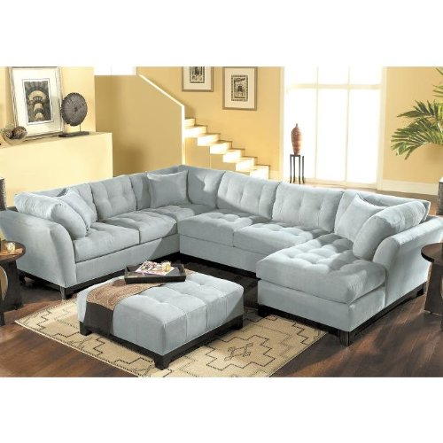 Modern Home Metropolis Hydra Right 4 Pc Living Room Furniture