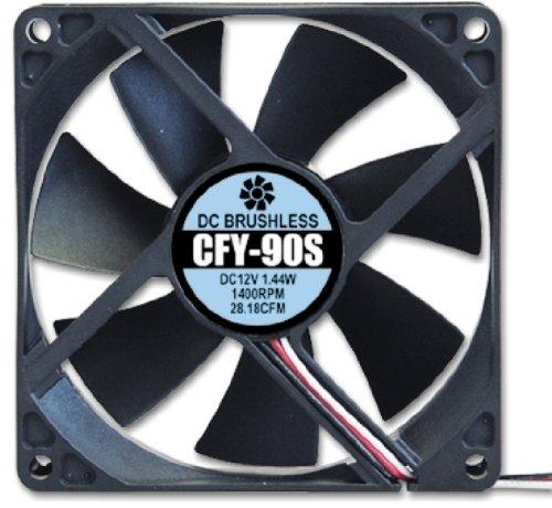 【Amazonの商品情報へ】アイネックス ケース用ファン92mm 静音タイプ CFY-90S