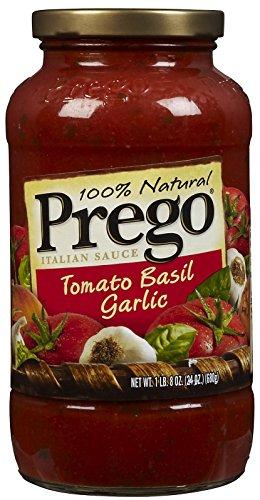 Prego Italian Sauce Tomato Basil Garlic