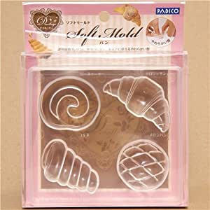 Amazon.com: soft mold for clay bread & pastry from Japan: Toys & Games