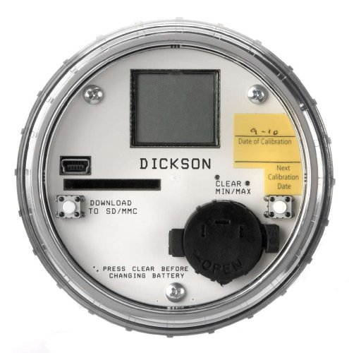 Dickson PR325 Pressure Data Logger, IP68 Resistant Case, Display, USB, Flash Memory,0-300 PSI, 1 Second Sample Rate (Display Case 70 compare prices)