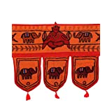 Rajrang Home Décor Embroidered Door Hanging Decorative Toran