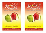 pegs'N'pipes Aroma Happiness Hookah Flavor - Pack of 2 (Double Apple - 50 g, Double Apple - 50 g)
