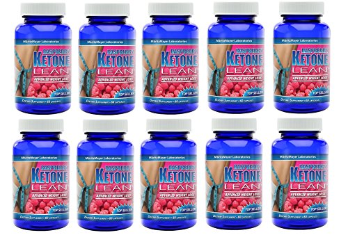 Maritzmayer Raspberry Ketone Lean Advanced Weight Loss Supplement 60 Capsules Per Bottle (10)