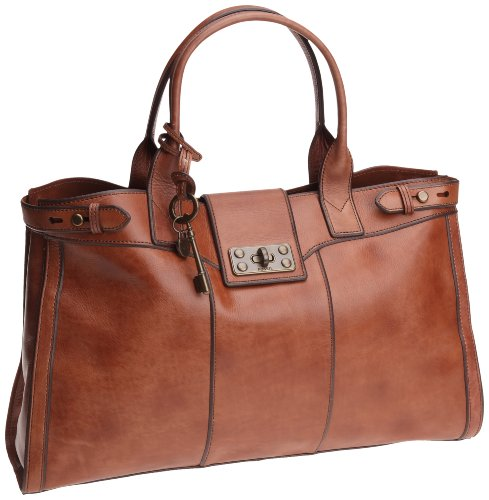 Fossil Women's Vri Zb4908 Weekender Camel Large