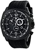 Swiss Legend Mens 21046-BB-01-WA Sprinter Analog Display Swiss Quartz Black Watch