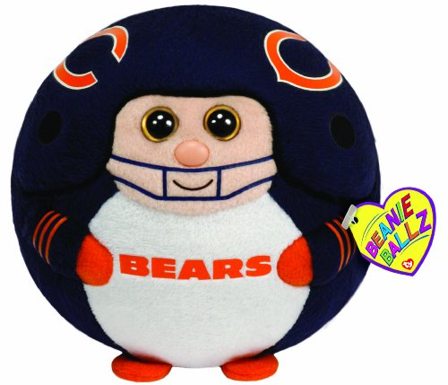Ty Beanie Ballz Chicago Bears - Medium - 1