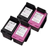 Sophia Global Remanufactured Ink Cartridge Replacement for HP 61 -2 Black, 2 Color