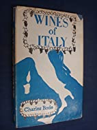 WINES OF ITALY. by Charles Bode