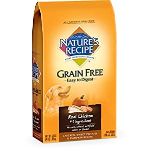 Nature's Recipe Grain Free Easy to Digest Chicken, Sweet ...