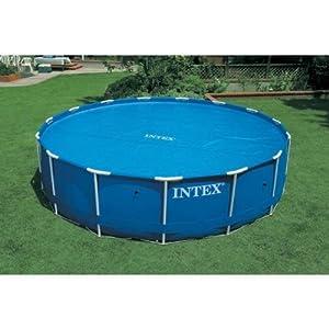 Intex 29022 Bâche à bulles pour piscines de Ø 3,66 m