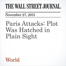 Paris Attacks: Plot Was Hatched in Plain Sight (       UNABRIDGED) by Stacy Meichtry, Joshua Robinson Narrated by Alexander Quincy